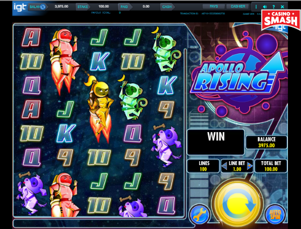 Slot Machine Apollo Rising