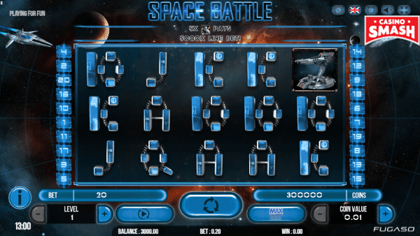 Slot Gratis Space Battle