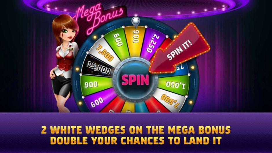slotomania mega bonus wheel