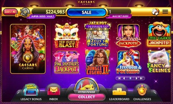caesar's casino site