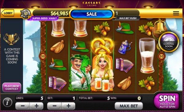 caesar's casino slot game