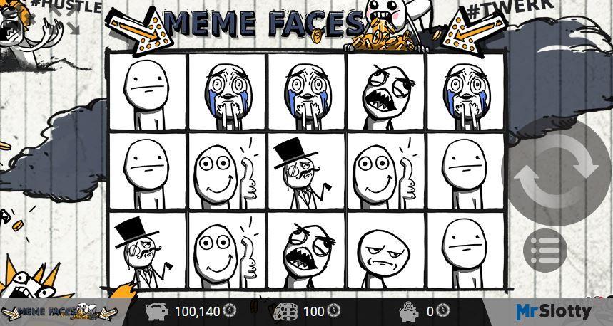 meme faces meme slot