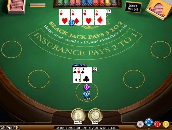 Blackjack Classic by NetEnt