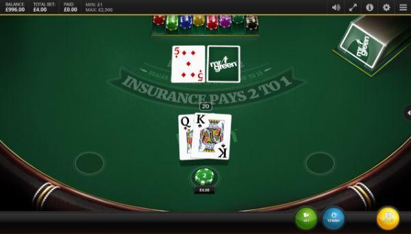 blackjack odds: play blackjack online