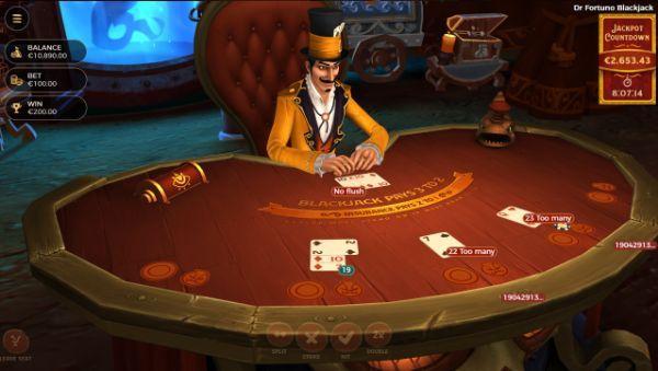 blackjack odds: double down
