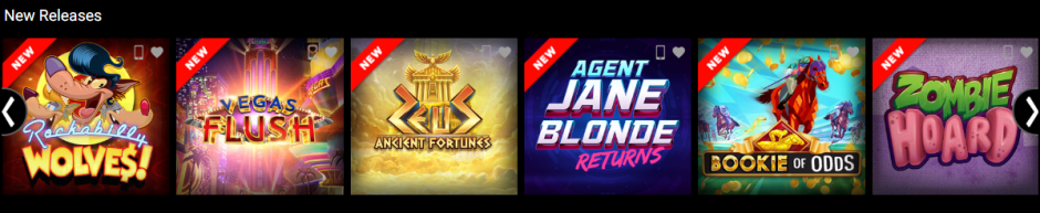 jackpotcity: new releases
