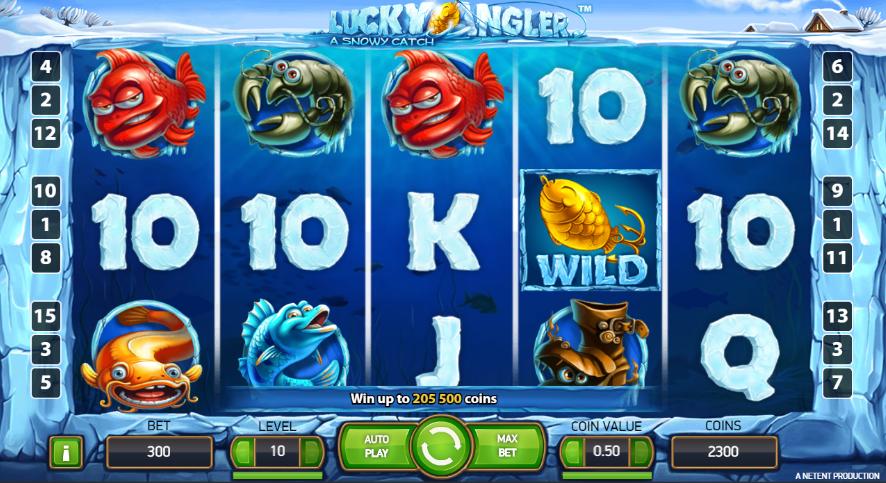 Lucky angler netent casino mapau