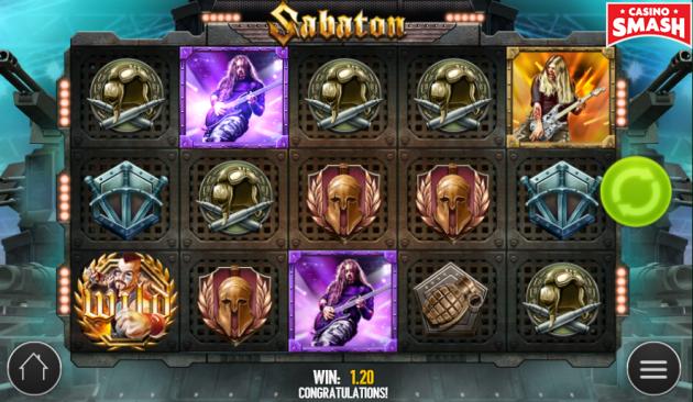 sabaton online slot strategy
