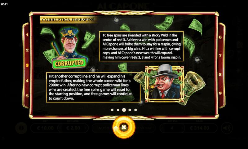 Al Capone Slot Machine