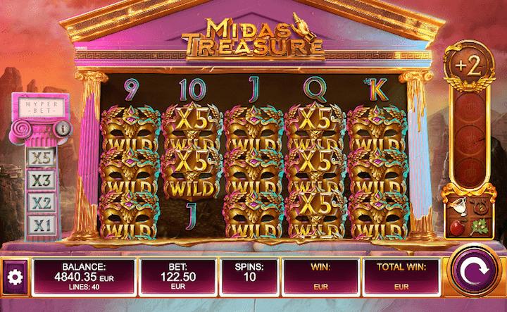 Spiele Midas Treasure - Video Slots Online