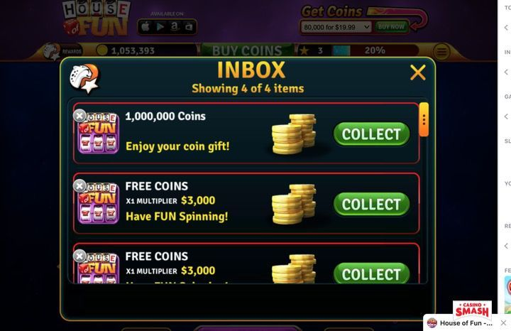 How To Get Free Coins On House Of Fun Homelooker