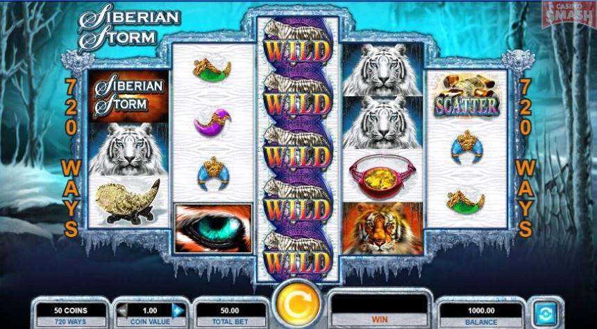 Siberian storm 80 free spins -