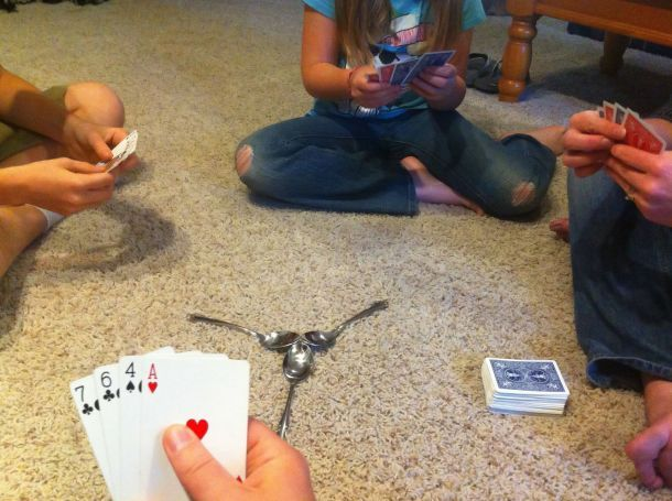The Card Game Spoons Instructions