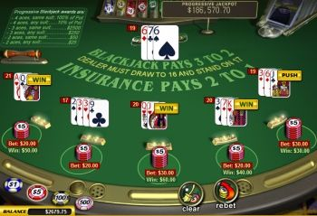 Dealer and player both have blackjack