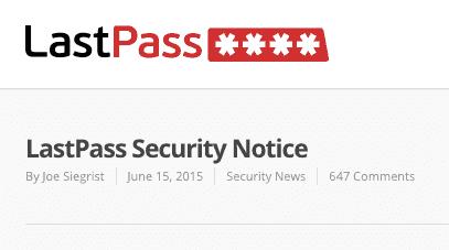 Lastpass Hack