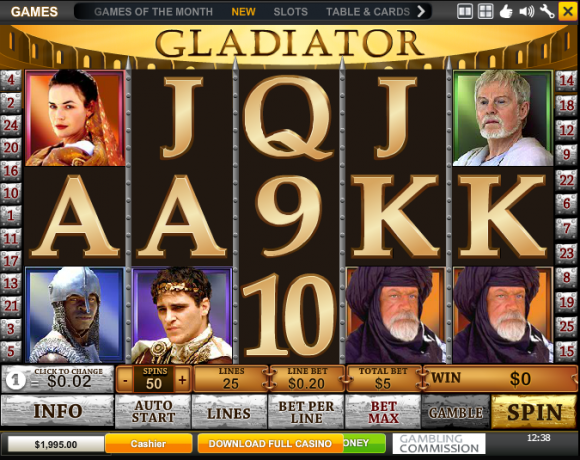 Playtech's Gladiator Triggers Its Tenth Huge Jackpot in History!