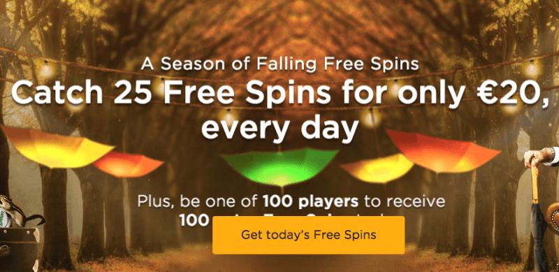 MrGreen Free Spins