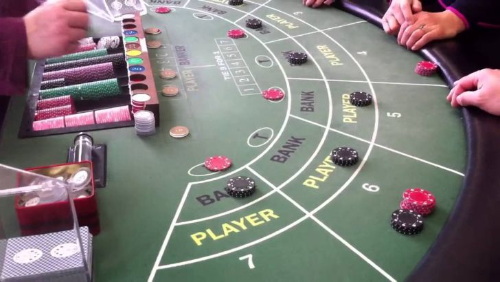 Baccarat flat betting