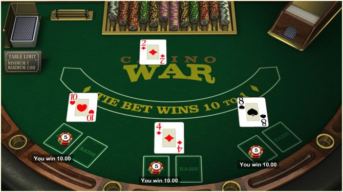A Winning Casino War Strategy That Works Guaranteed