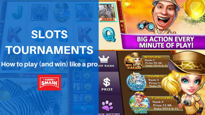 online slot tournament strategy