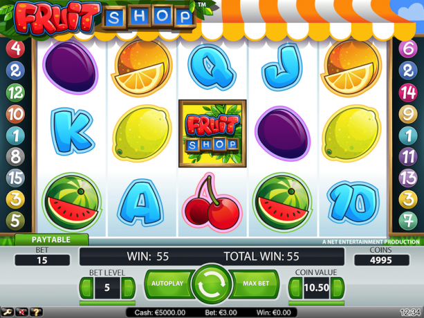 Fruit Shop slots tournament