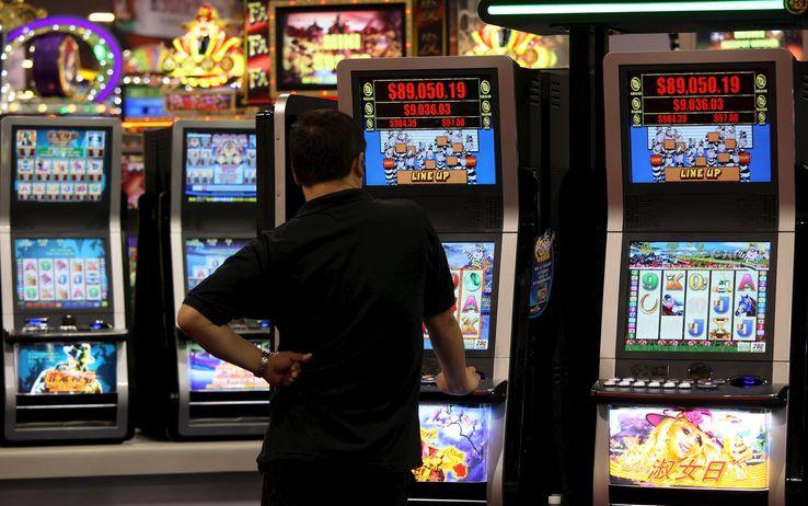 Slot machines italy