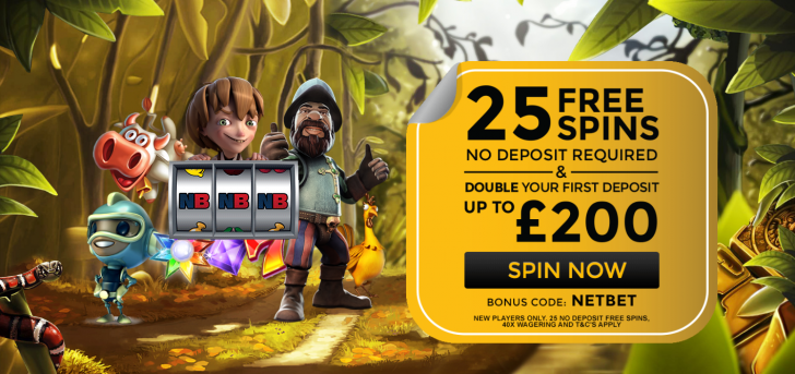 Win Massive Jackpots with No Deposit Free Spins at NetBet!