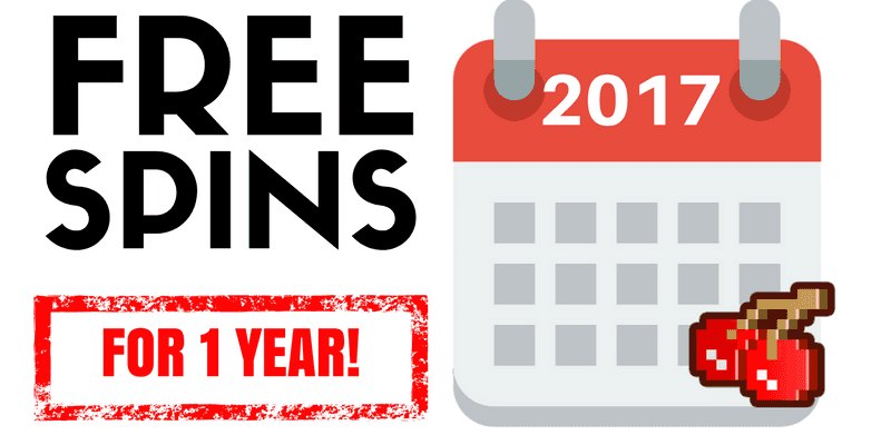 Here's How You Can Get Weekly Free Spins for a Year!