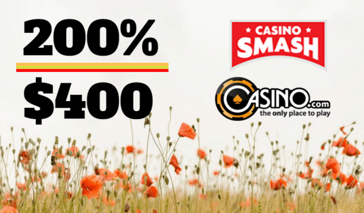 Exclusive Spring Welcome Bonus at Casino.com!