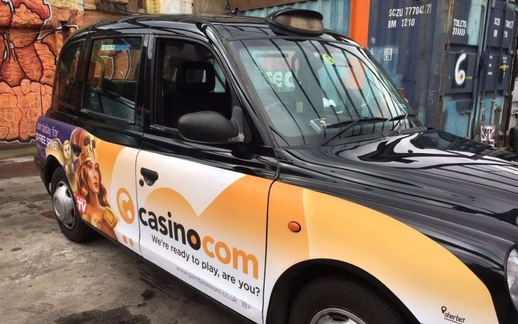 Keep an Eye Out for Casino.com's London Taxis!