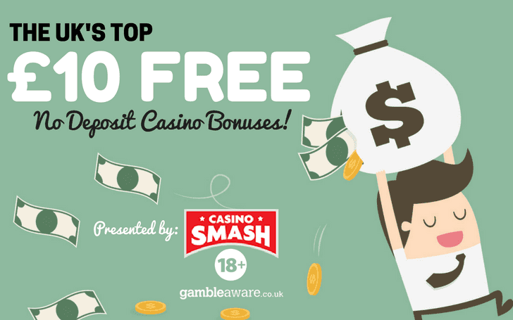 10 Free No Deposit Casino Uk