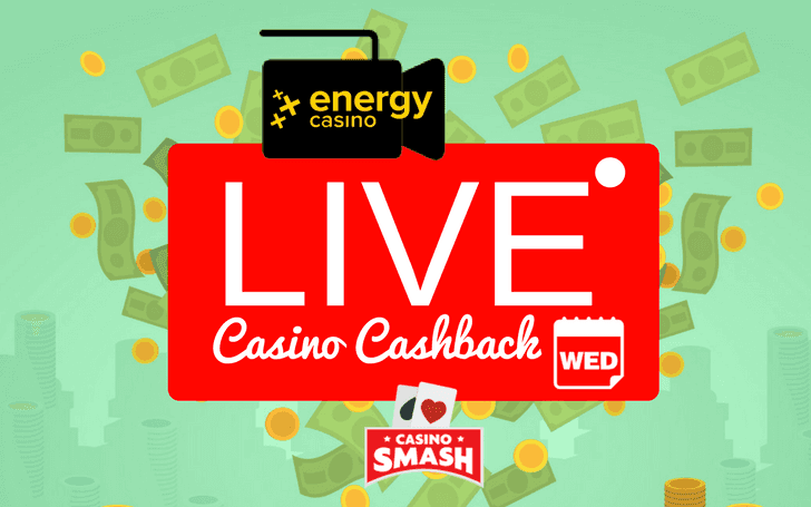 Win Back €100 Cash Playing Live Casino This Wednesday!
