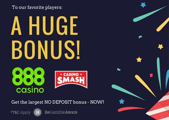 888casino largest bonus