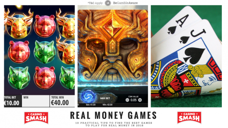 casino games that pay real cash