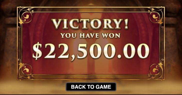 Big win at slots