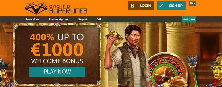Casino superlines bonus codes