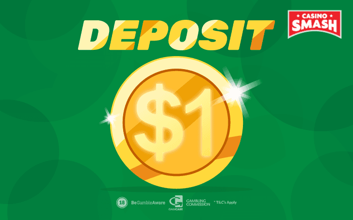 $1 minimum deposit casino