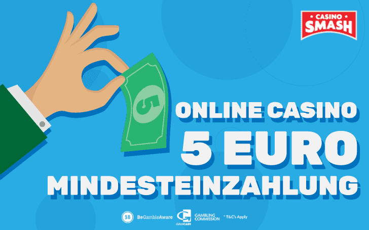 5 Euro Mindesteinzahlung