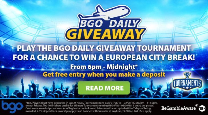 BGO Daily Giveaways: Win a Trip to Europe