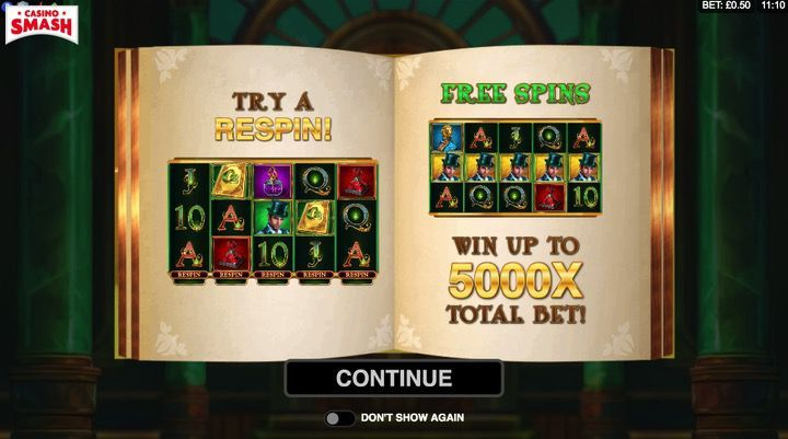Book of Oz Slot Microgaming