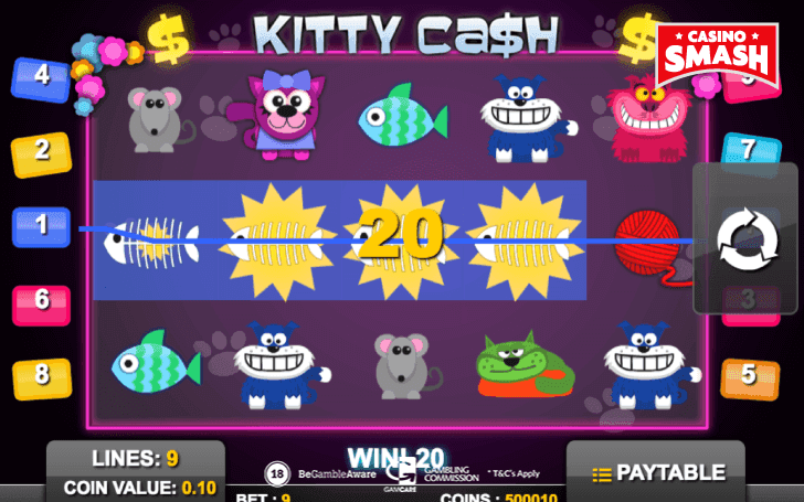 Kitty Cash Slot Review