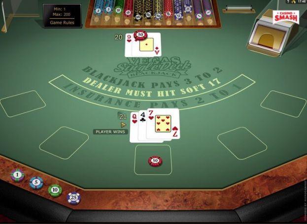 Single deck blackjack trainer