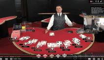 Crazy Live Blackjack Hand