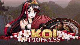 Das Koi Princess Roulette bei Unibet bringt 100 Free Spins