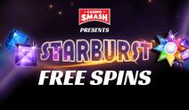 starburst 100 free spins no deposit