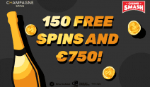 This Casino Gives You 150 Free Spins (and a Bottle of Champagne)