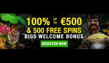 Big5 Casino Bonus