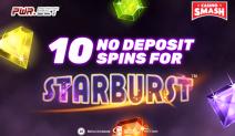 pwr.bet 10 free spins starburst
