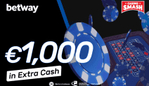 € 1000 Extra Cash im Betway Casino