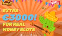 extra 3000 at la fiesta casino